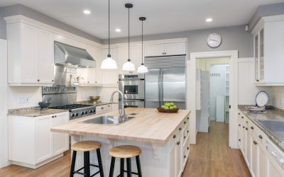 Materials for a Stunning White Kitchen